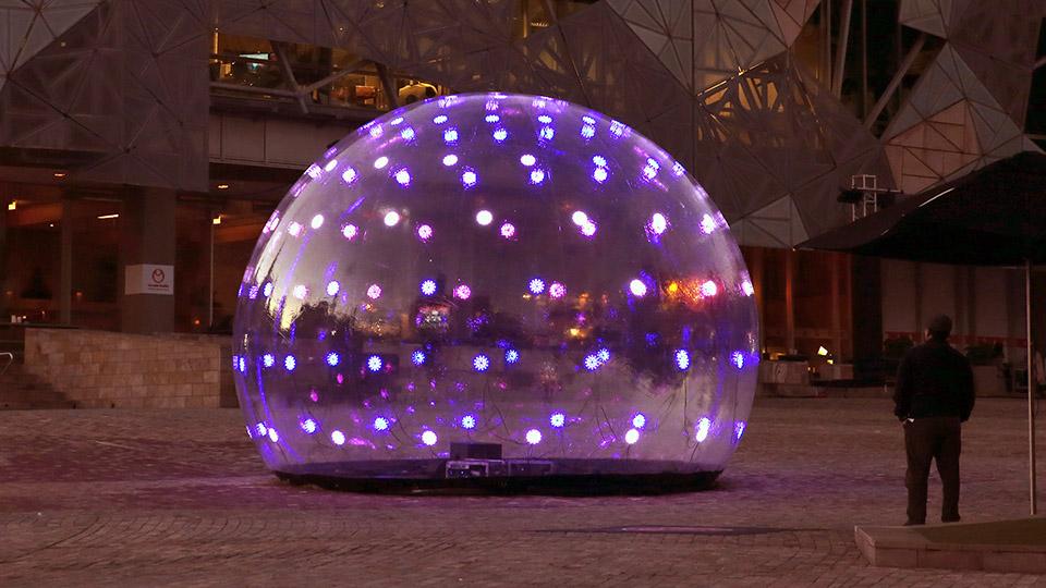 interactive art Installations, interactive light.