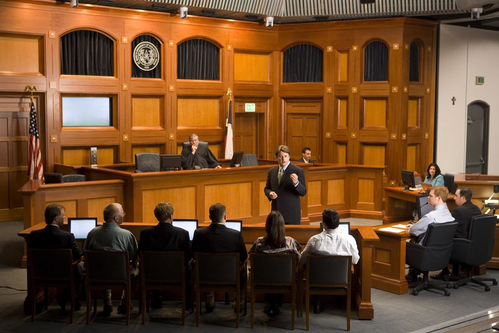 Observe court proceedings - & witness litigation in action.