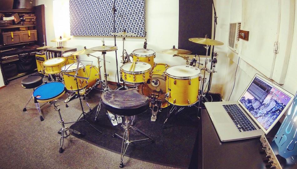 Sideways Studios Instrumental Rooms