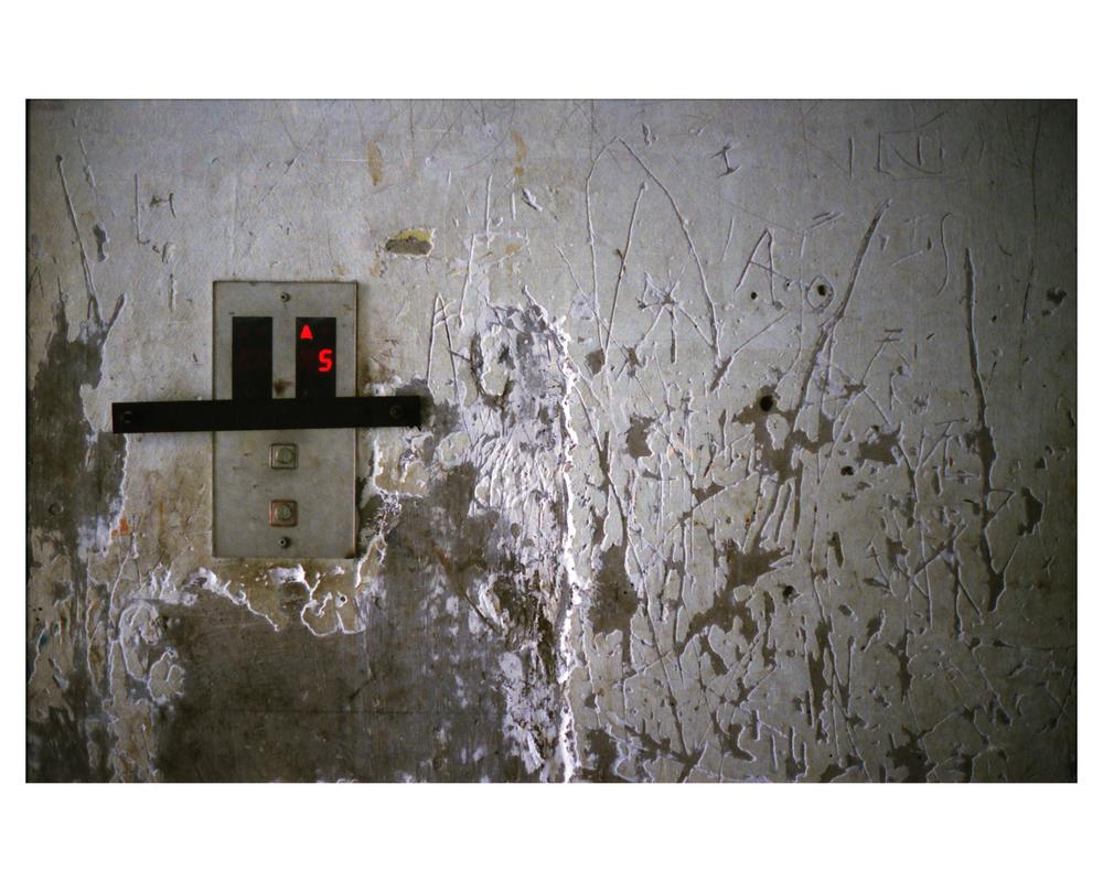 "Elevator, Archival Print, 18""x12"", 2015"