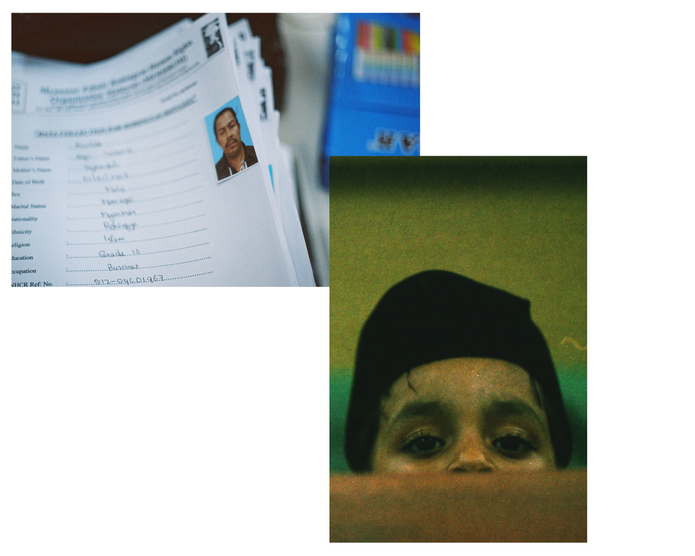 "Documents, Archival Print, 18""x 12"", 2015 // Peeking, Archival Print, 12""x 18"", 2015"