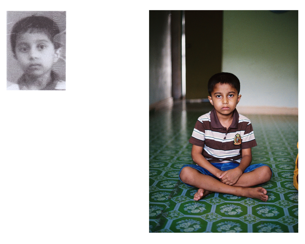 "Portraits, Archival Print, 18""x 18"", 2015"