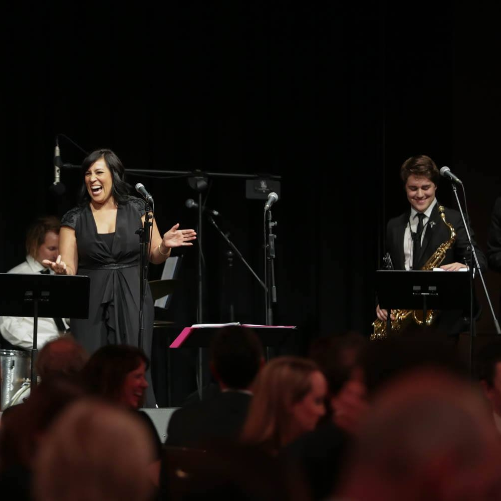 Emile Ryjoch with Kate Ceberano