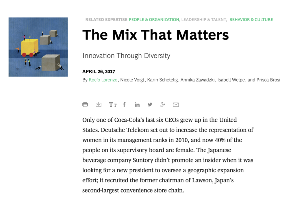 Further reading:  The MIx that Matters, www.bcg.com