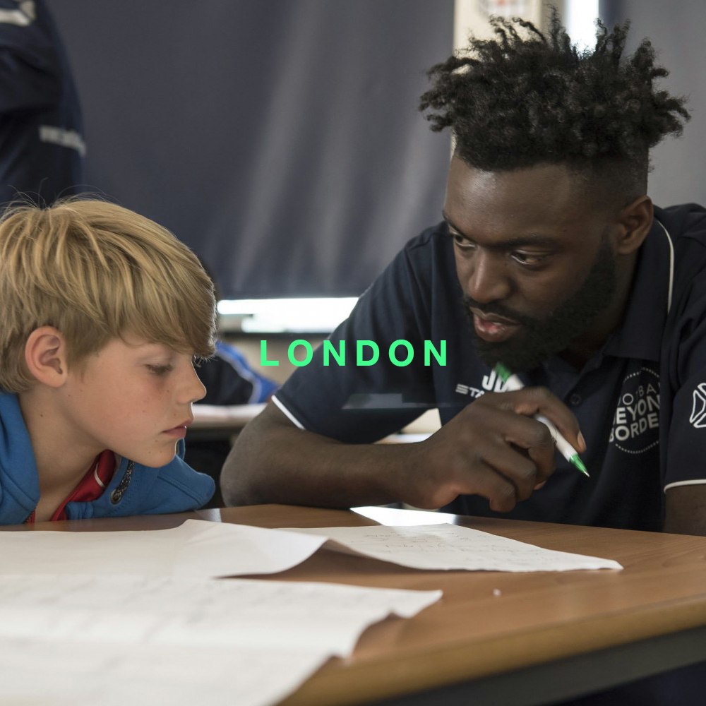 Football Beyond Borders  A UK charity that uses the power of football to inspire young people to achieve their goals and make their voices heard.