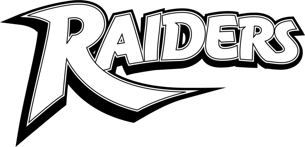 Raiders Logotype BW.png