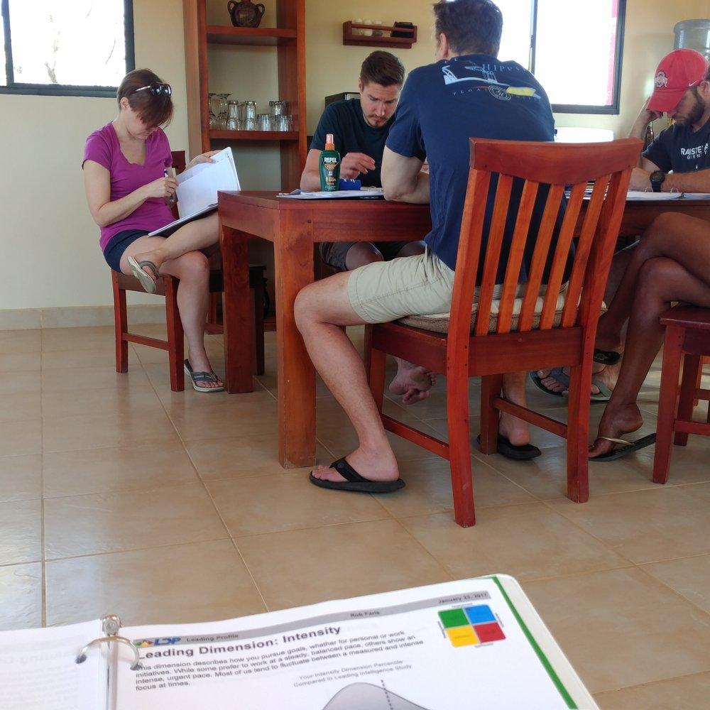 Leading Dimensions Profile Session
