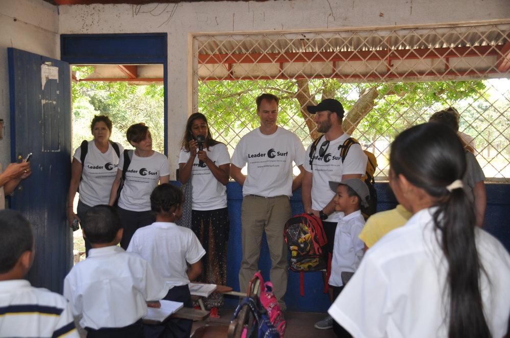 Nicaraguan Classroom Visit