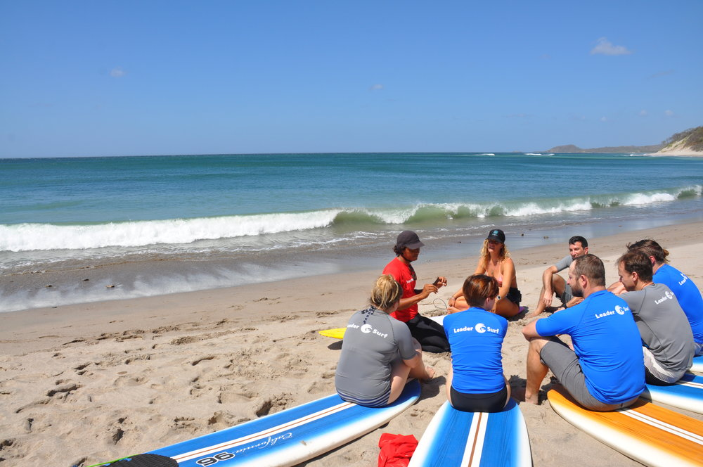Leadership lessons from Surfing
