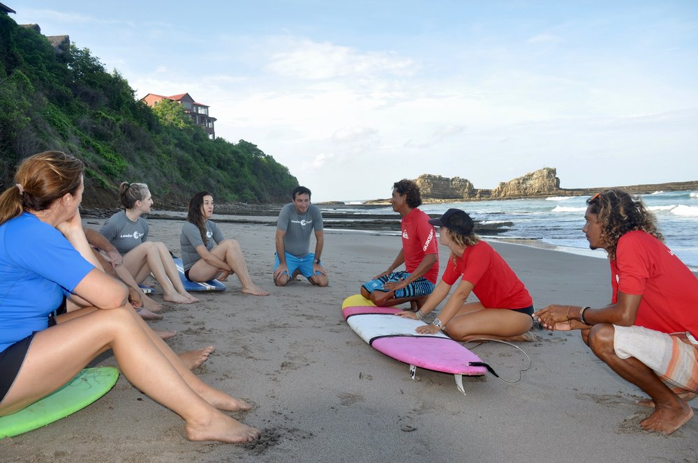 LeaderSurf Beach Lesson