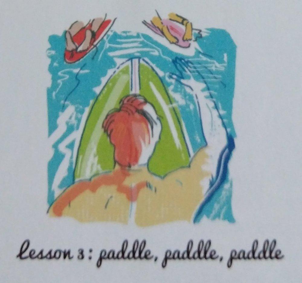 Lesson 3: Paddle, Paddle. Paddle