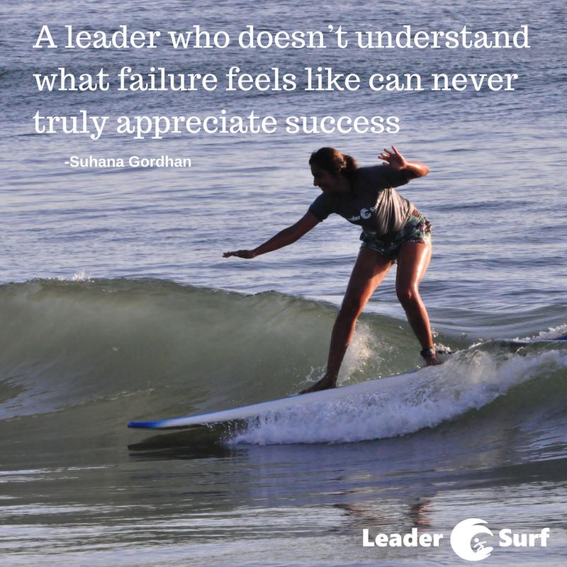Suhana Gordhan LeaderSurf lessons
