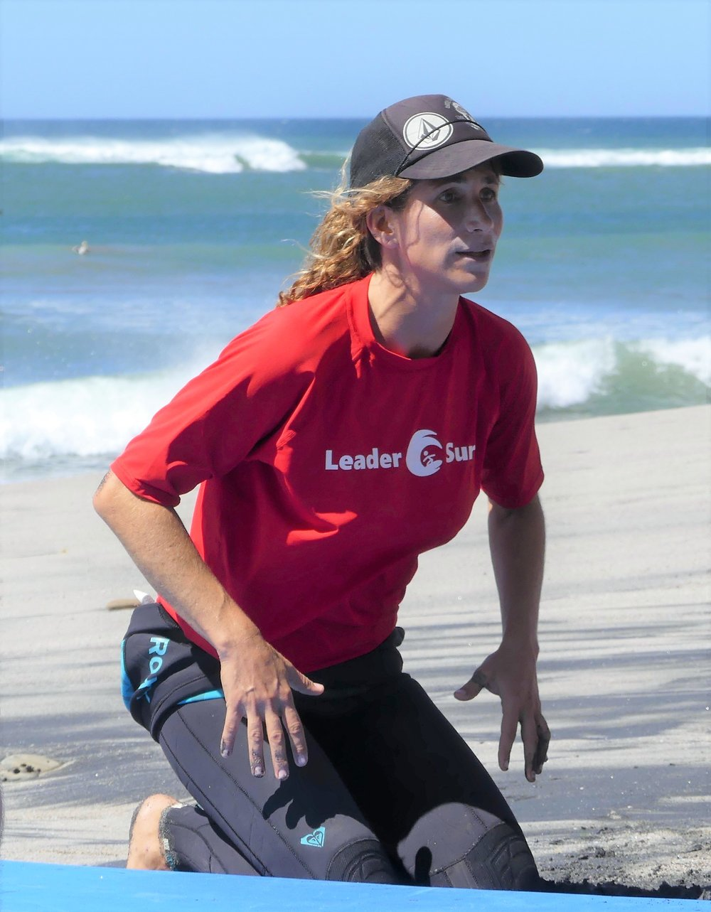 Aura Boulton LeaderSurf Surf Instructor
