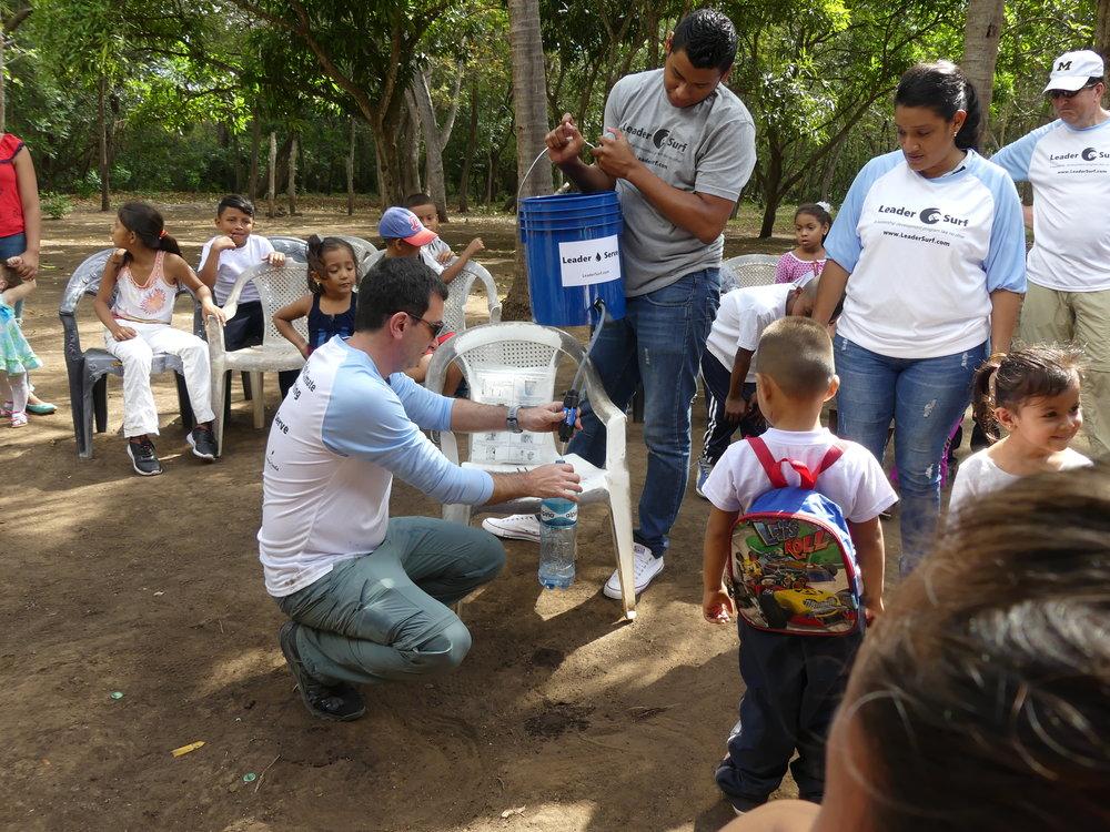 LeaderServe Water Filter Demo