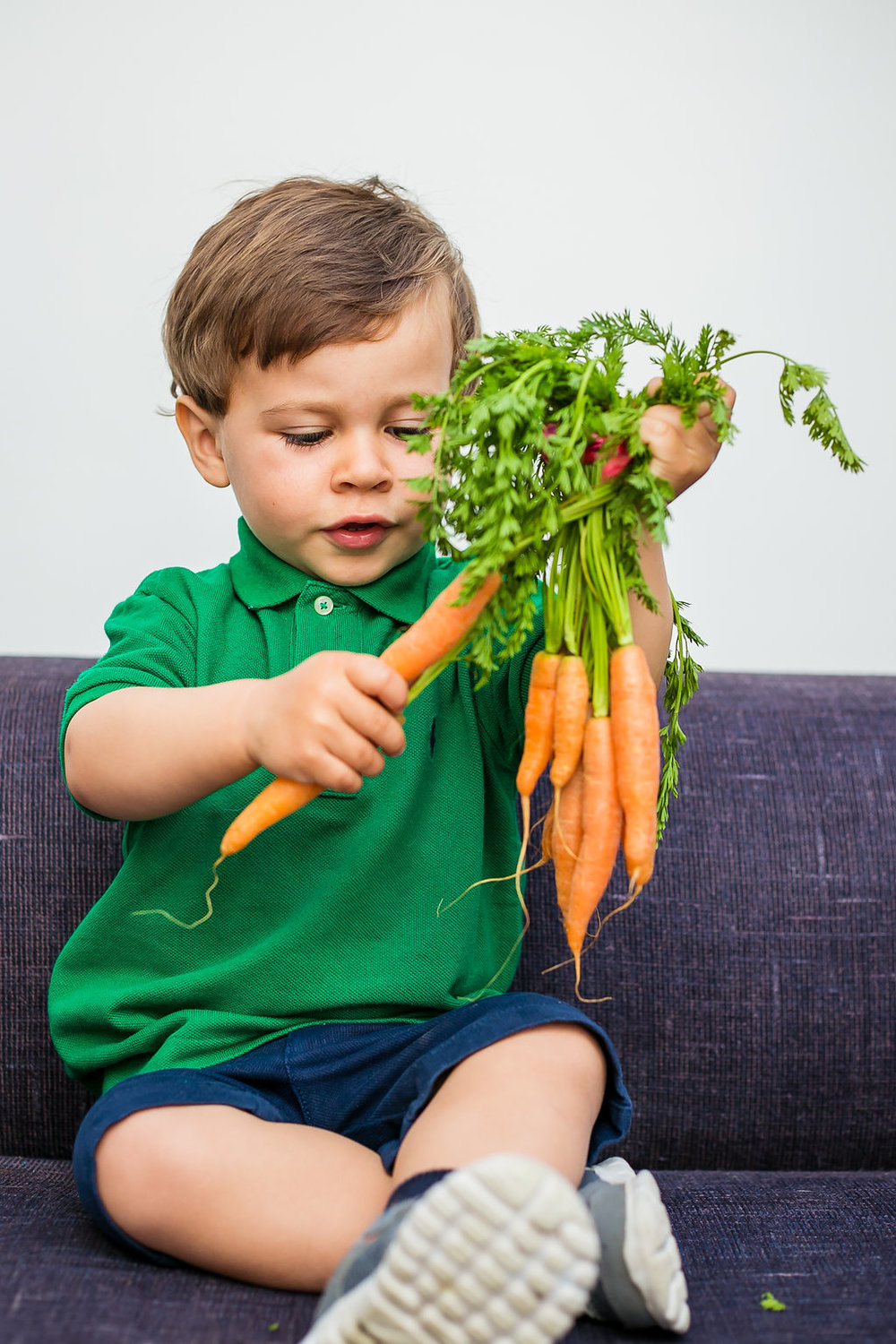 We encourage curiosity in little foodies about what we eat and where it comes from