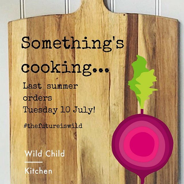 We've been a little quiet on social lately as there has been lots going on behind the scenes at Wild Child HQ...We'll be closing our kitchen over the summer to work on some exciting new projects, so make sure you get your orders in by Tuesday 10 July and stock your freezers for mealtime fixes over the holidays! We're looking forward to sharing developments with you soon 😊 In the meantime we'll keep sharing foodie tips, recipes and brands we love 💜