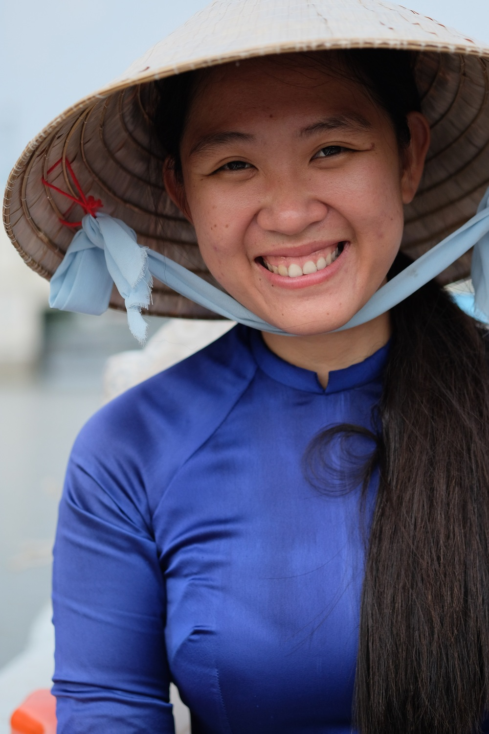 Our fantastic boat guide Pham.