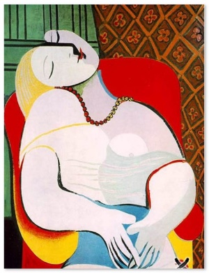 Pablo Picasso, Le Rêve, 1932.   Private Collection.