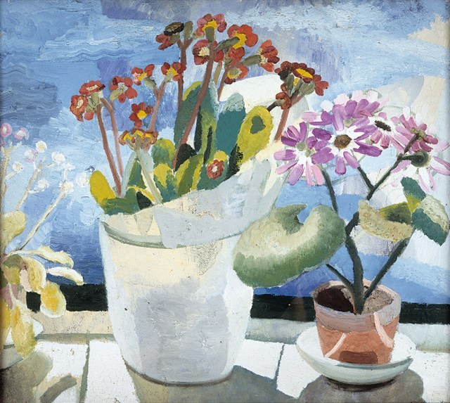 Winifred Nicholson,  Polyanthus and Cineraria , 1921