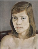 Lucian Freud, Portrait of a Girl, 1950