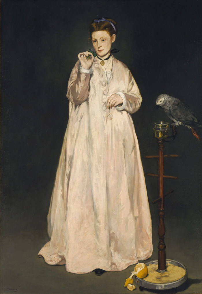 Manet,  Young Lady in 1866 , The Metropolitan Museum of Art, New York.