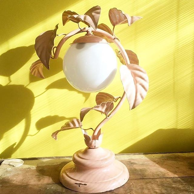 🌼🌼🌼#Regram our previous #IrisWoman @matildagoad and this beautiful lamp. Check out her interview at our website 🌼🌼🌼🌼🌼