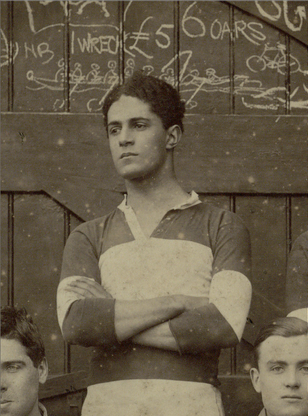 David Louis Clemetson, detail of photograph to the right.