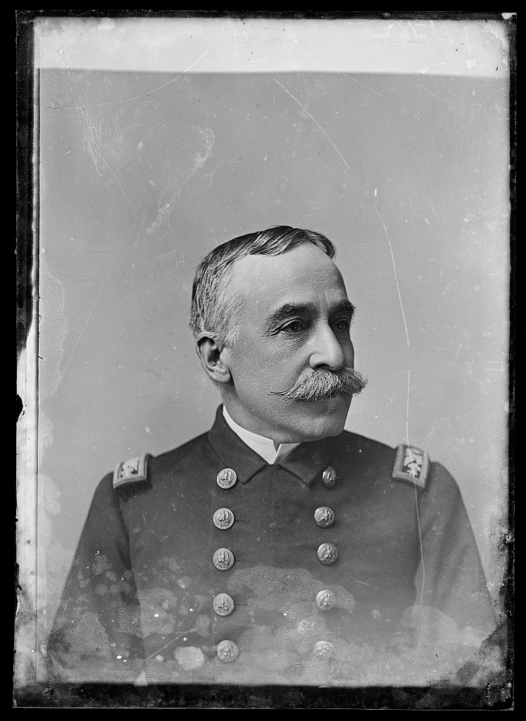 Admiral Dewey, photographed by C. M. Bell, circa 1873-1916, Library of Congress Prints and Photographs Division