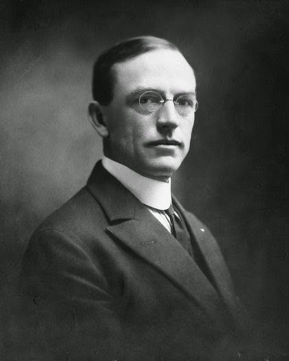 Frank Bird Linderman. Photograph courtesy of the Frank Bird Linderman Memorial Collection, Archives and Special Collections, Maureen and Mike Mansfield Library, The University of Montana-Missoula.