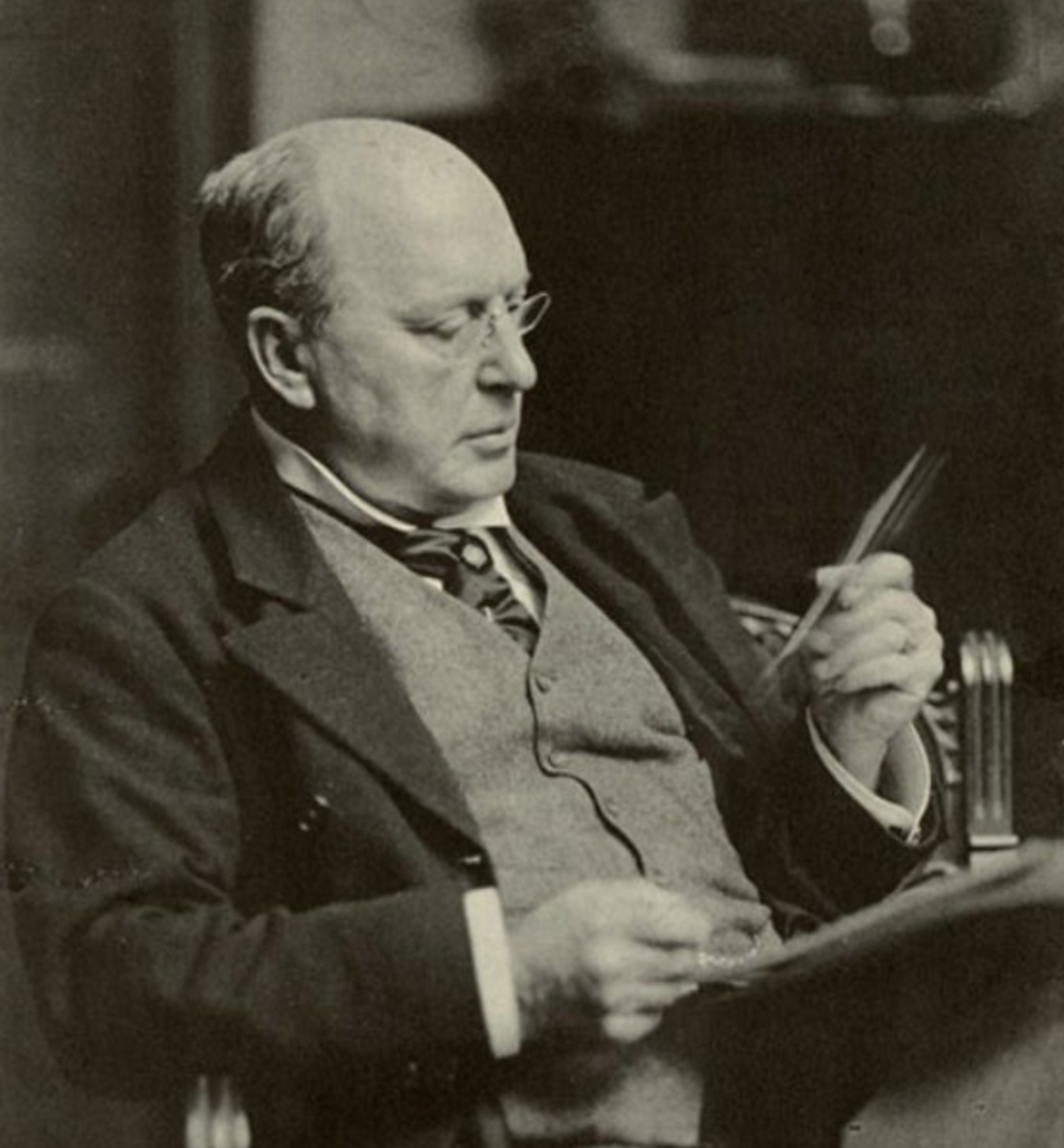 Henry James, unknown photographer. Wikipedia commons.