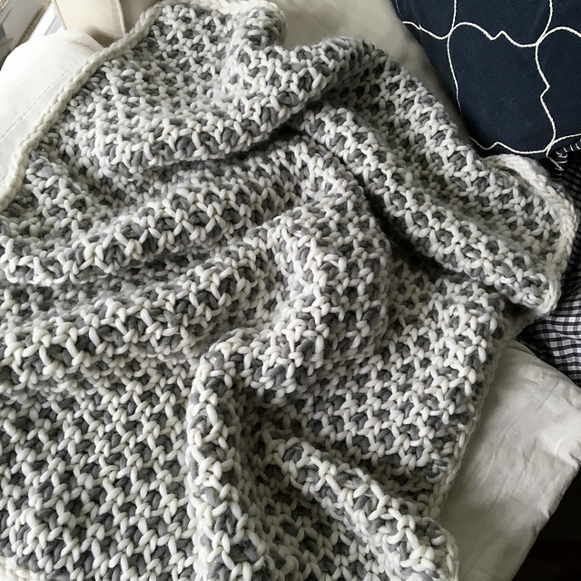 Purl Soho Beautyberry Blanket 3