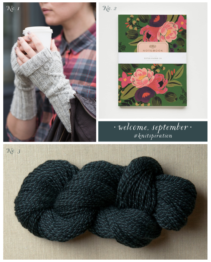 #knitspiration, ysolda, rifle paper co, woolfolk yarn