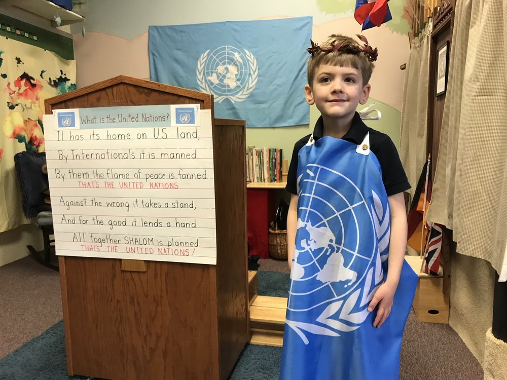 KITS introduced the United Nations at Learning Expo 2018.