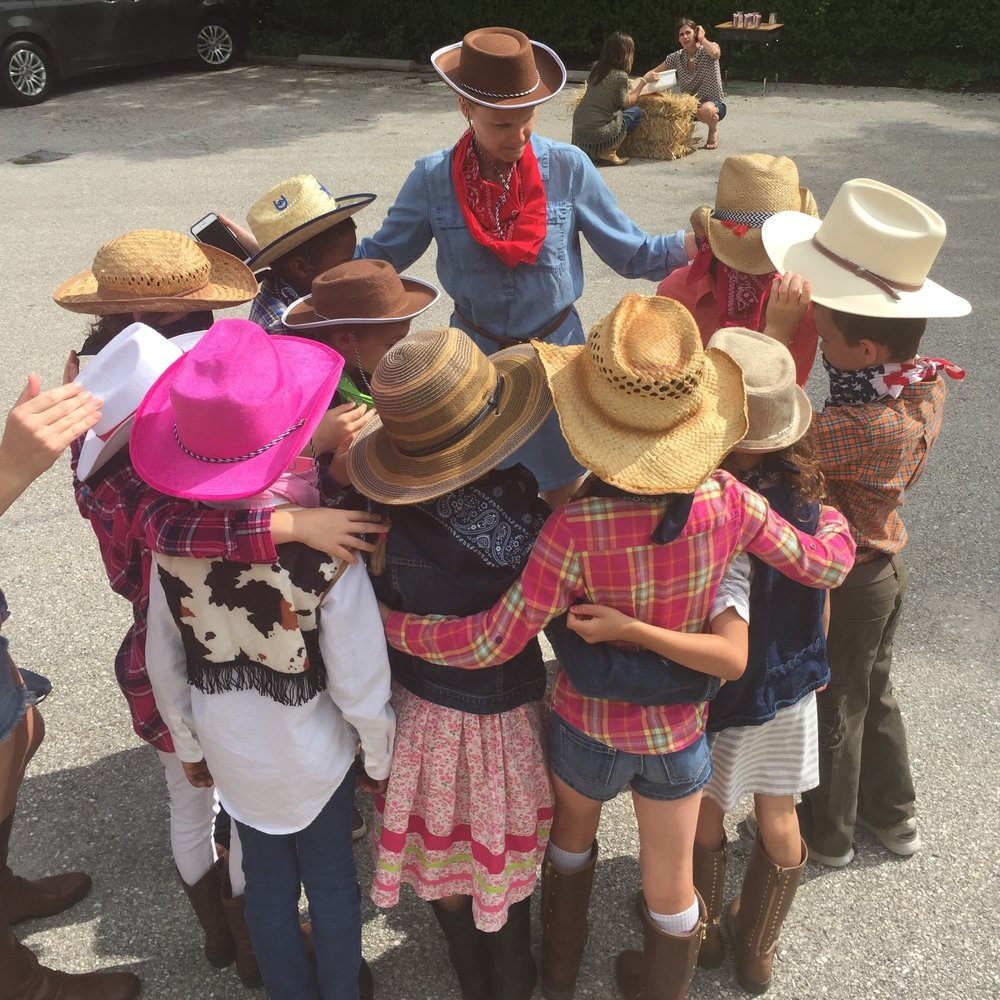 "We celebrate the year and say ""Howdy"" to summer with Western Day!"