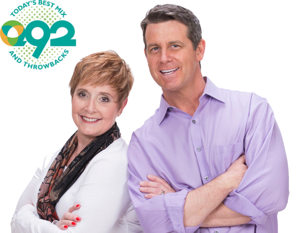 Meet Brett & Tracy. - Q92's morning duo will broadcast live from the event.