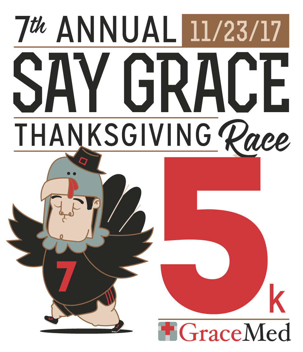 7th Annual Say Grace Race Graphic