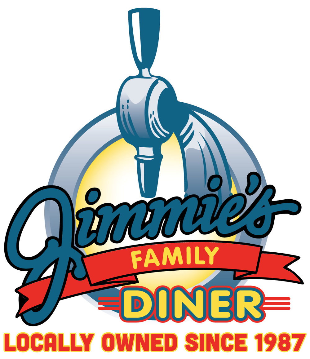 Jimmie's Diner logo, host of Hotcakes for Hopecare