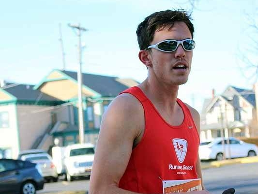 Benjamin Zywicki, overall male winner: 15m 10s