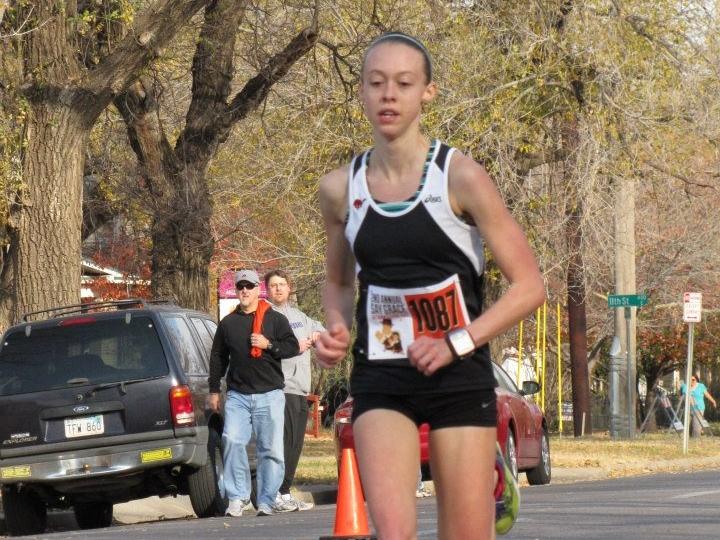 Jordan Arnold, Overall Female Winner: 17m 53s