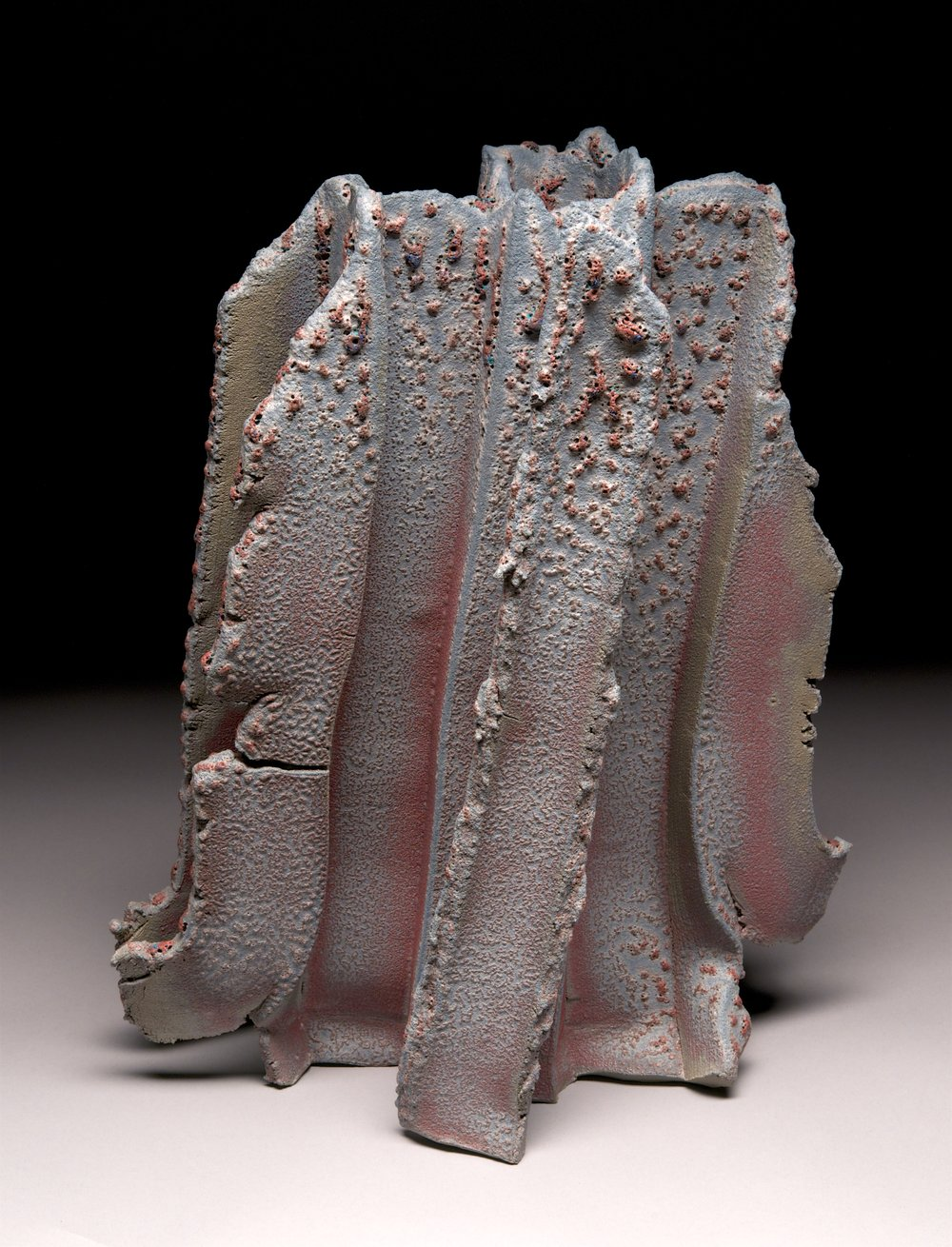 """Basalt"" series: Extruded clay"