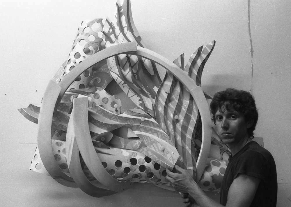 Frank Stella Ceramic Reliefs in Collaboration with Frank Bosco   Read about this collaboration on Cfile Online . Garth Clark, editor.