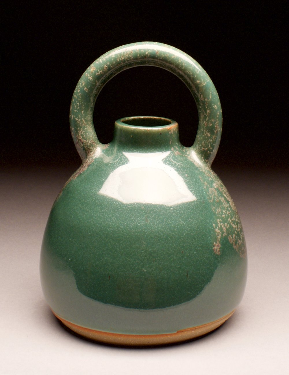 Veronica Sharon, thrown and hand-built, stoneware clay, cone 10 oxidation