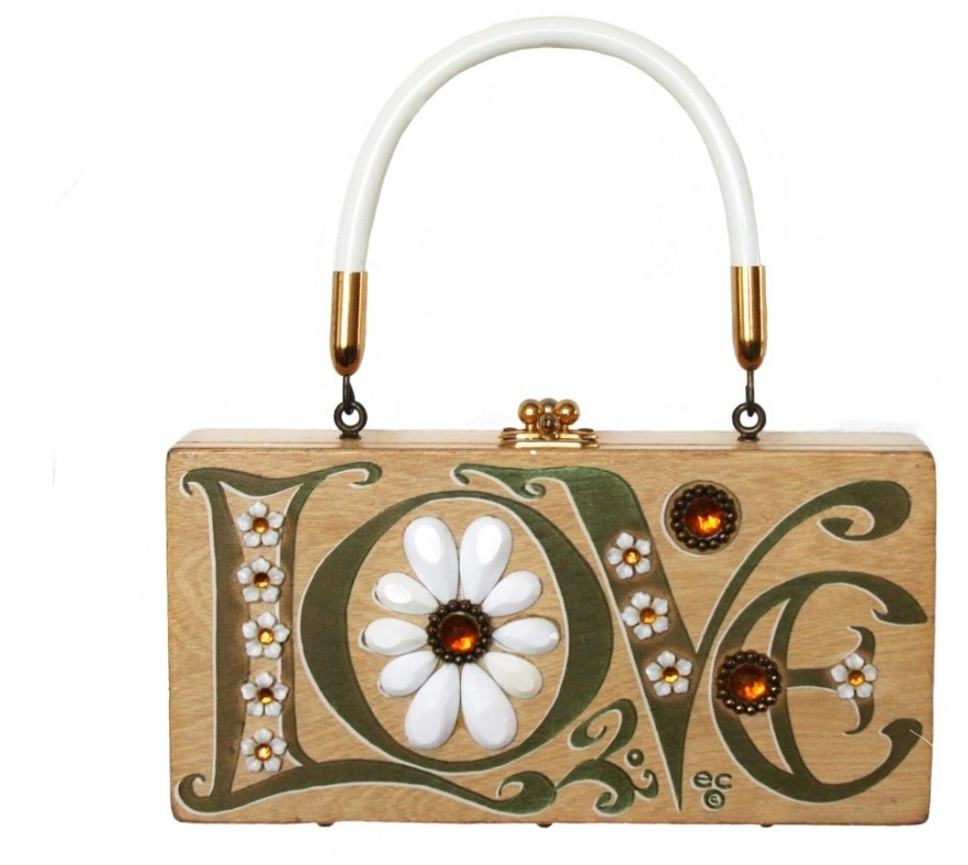 finding Enid with - Purse anthropology to discover the work of American designer and folk artist Enid Collins.
