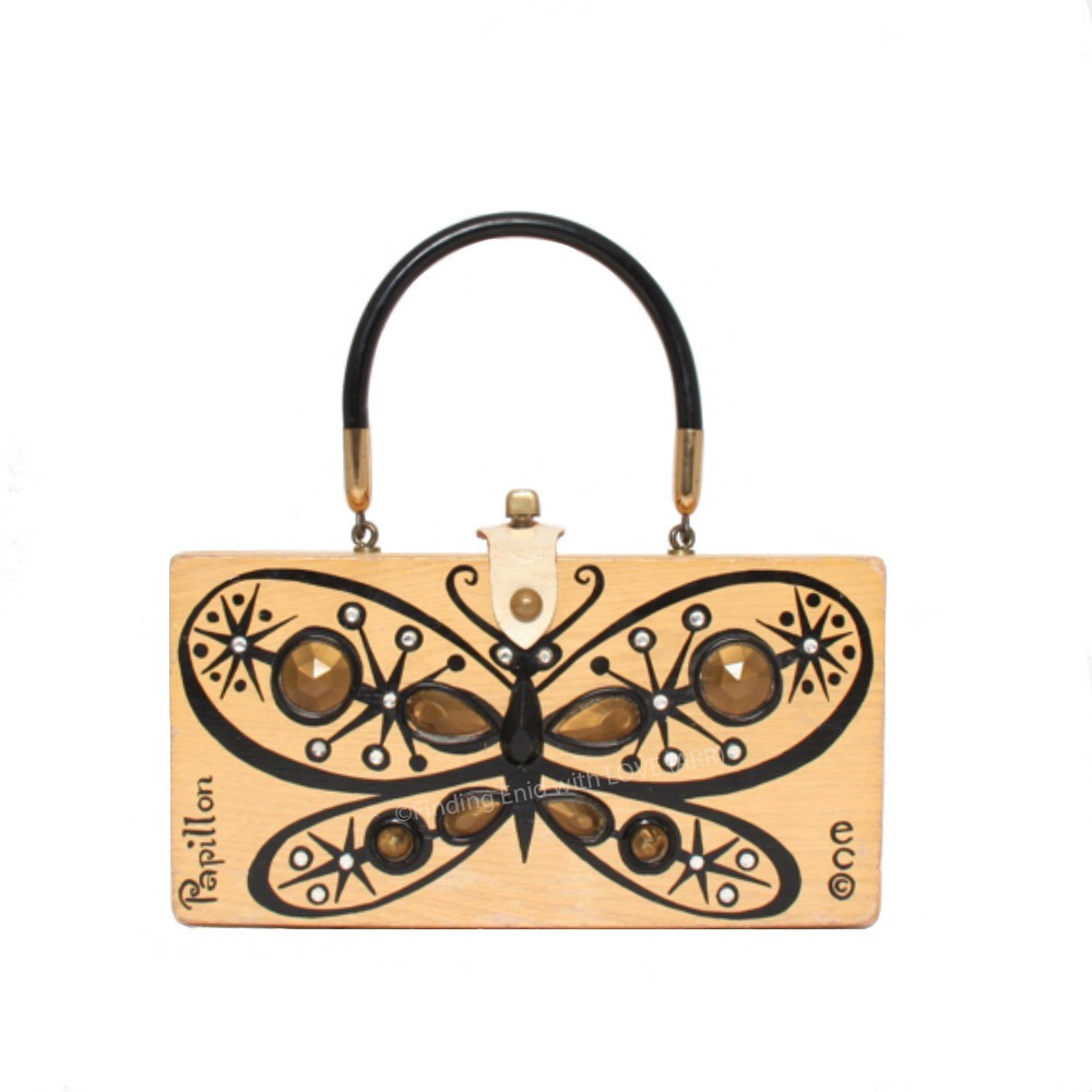 Papillon black gold 5386 by Enid Collins.jpg