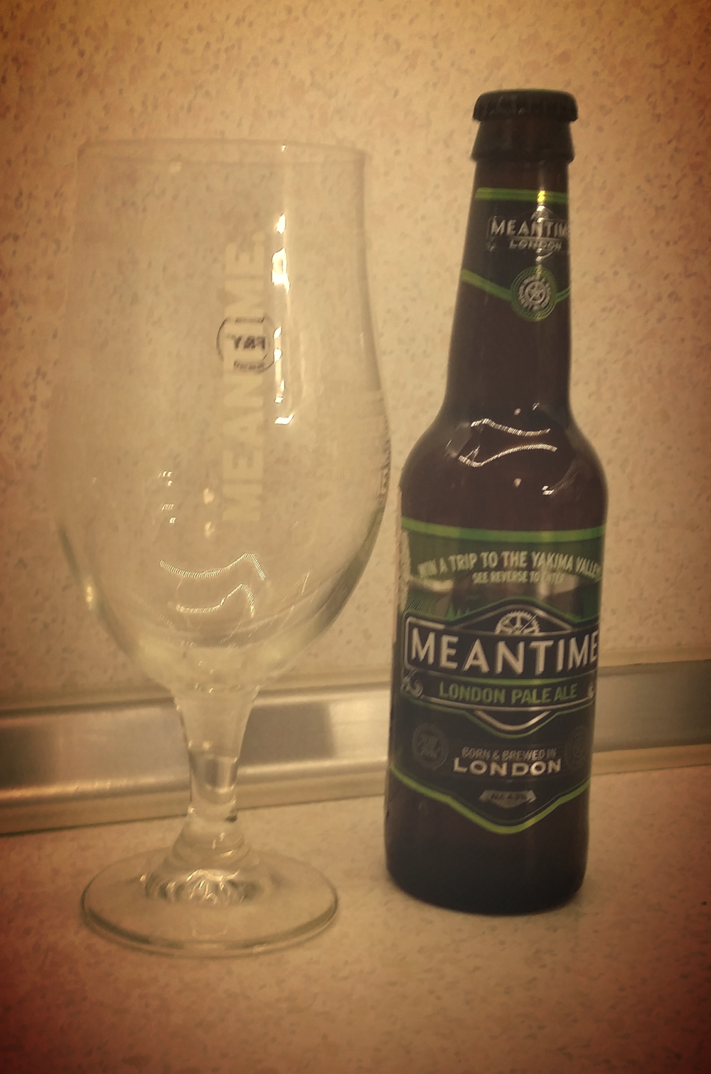 Meantime IPA tasting