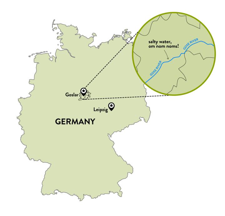 Goslar map