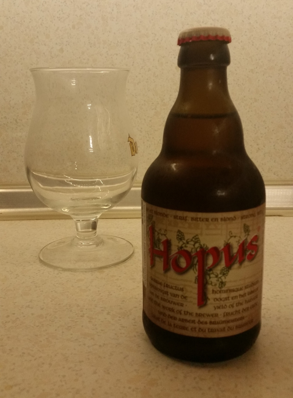Hopus Beer Bottle