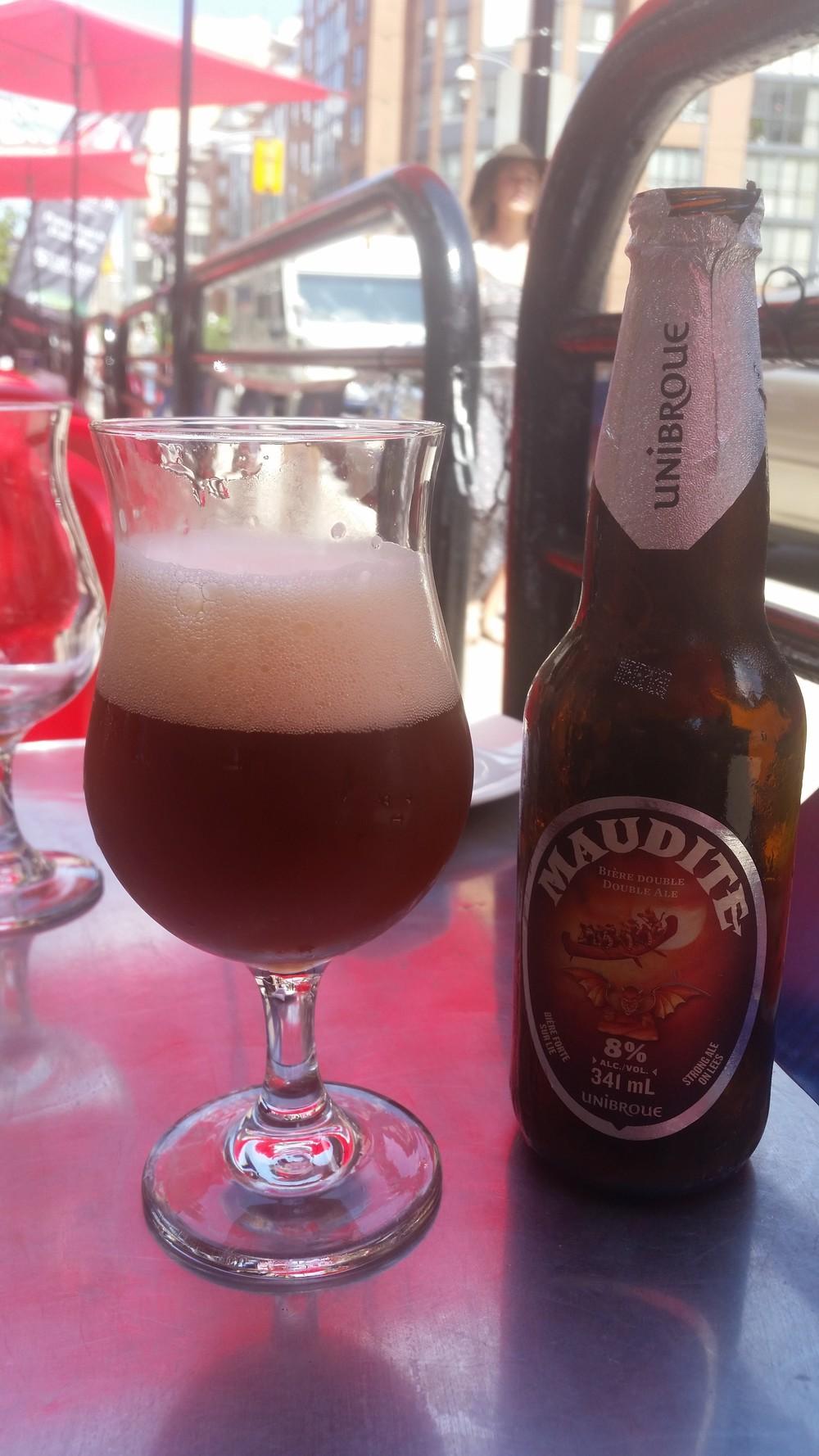 Maudite (Fr: Lanetli) %8 alkollü Belgian Strong Dark Ale, Beeradvoctae puanı 93