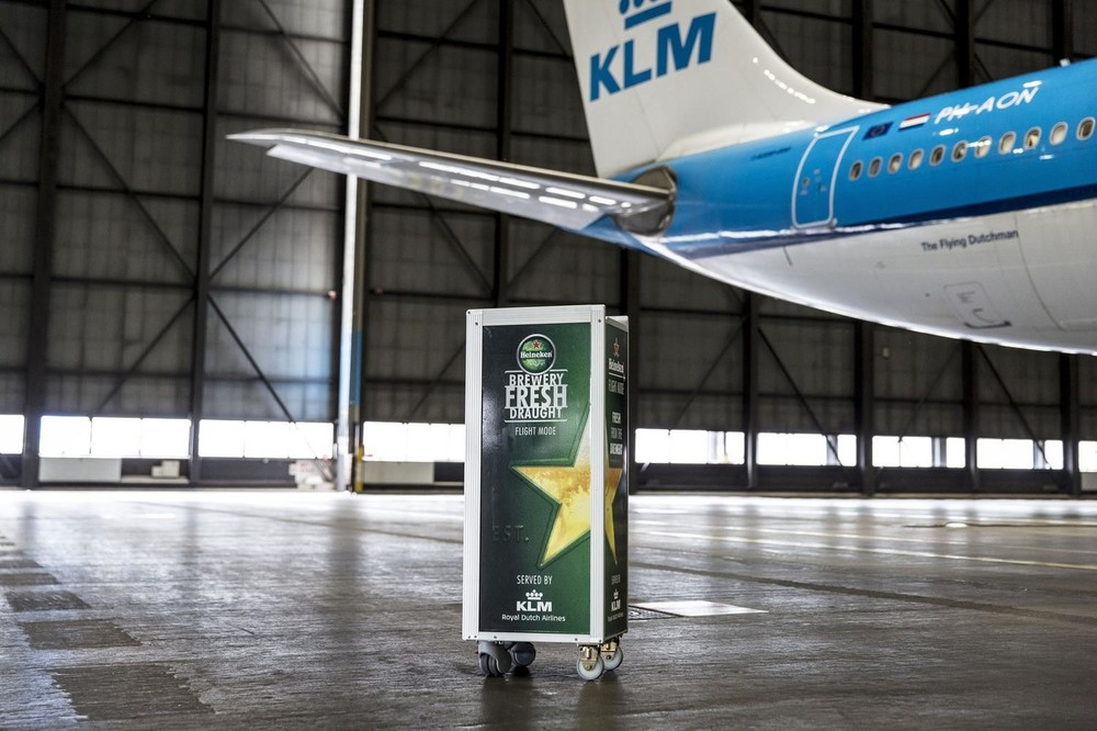 Heineken fıçının uçak hali