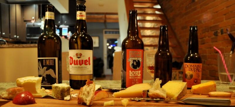 Bira ve peynir uyumu
